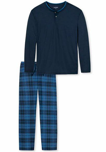 Schiesser Dlouhé pyžamo
