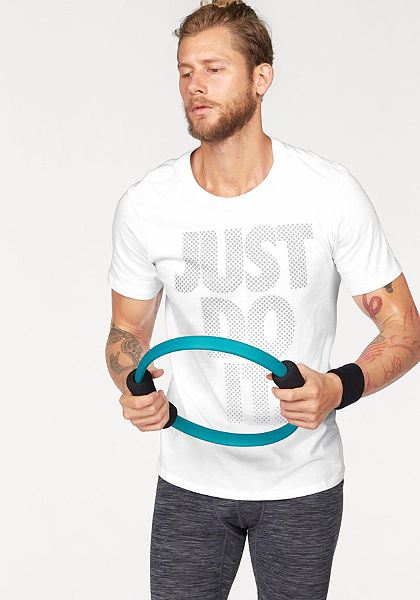 Nike Sportswear »TEE AV15 JUST DO IT STACK« póló