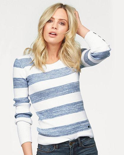 Arizona pulovr s proužky