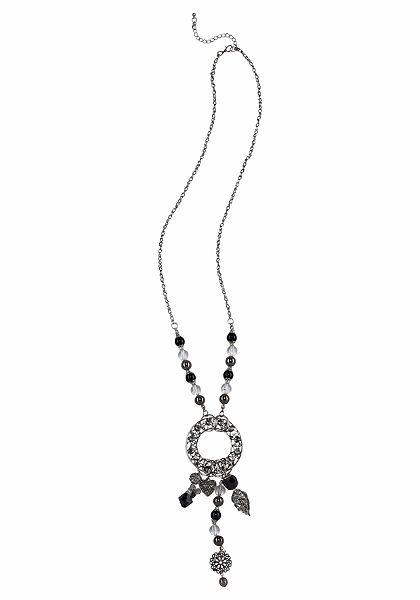 J. Jayz nyaklánc »strasszkövekkel és gyöngyökkel«