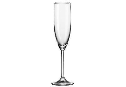 Szett :  pezsgős pohár, Leonardo, »Daily« (6 részes)
