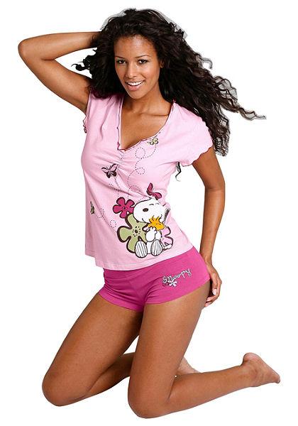 Krátké pyžamo, Snoopy
