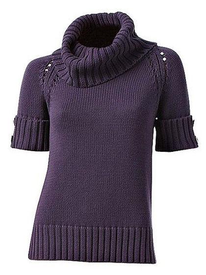 Kámzsagalléros pulóver