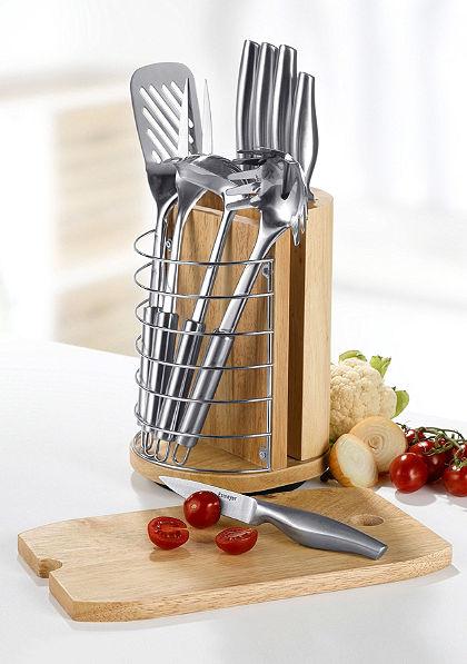Kés- és konyhai kiegészítő készlet, Esmeyer, »Antaris« (11 részes)