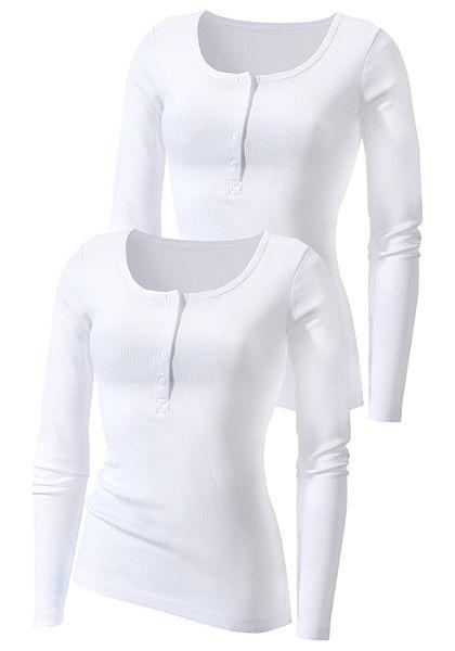 Tričko s dlouhým rukávem, H.I.S. (2 ks)