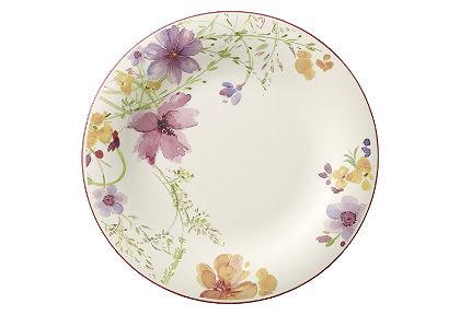 Plytký tanier, Villeroy & Boch »kvetinový dekor« (2 ks)