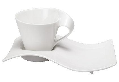 Kávový servis, Villeroy & Boch »nová vlna« (8 ks)