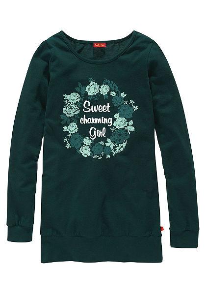 CFL Lányka hosszú póló »Sweet Charming Girl«