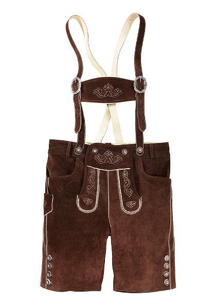 Pánske kožené krátke nohavice, Country Line