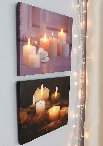 Set světelných obrazů LED
