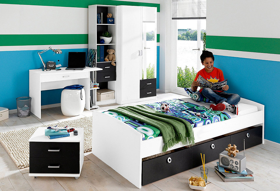 jugendzimmer 3 tlg aus dem otto shop f r das stilvolle zuhause. Black Bedroom Furniture Sets. Home Design Ideas