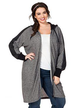 Kabát z teplákoviny, sheego Trend
