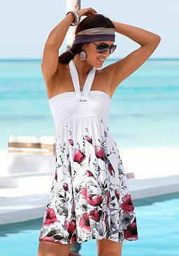 Plážové šaty s 5 možnosťami nosenia, LASCANA