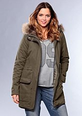Parka, sheego Casual