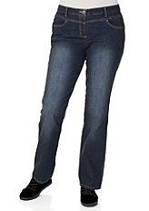 Strečové džínsy zaoblená postava, JFM