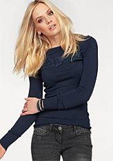 Melrose kereknyakú pulóver