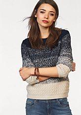 LTB csíkos pulóver »Becomi«