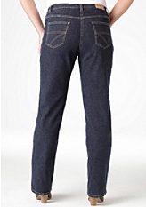 Strečové džínsy, Denim
