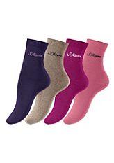 Ponožky, s.Oliver (4 páry)